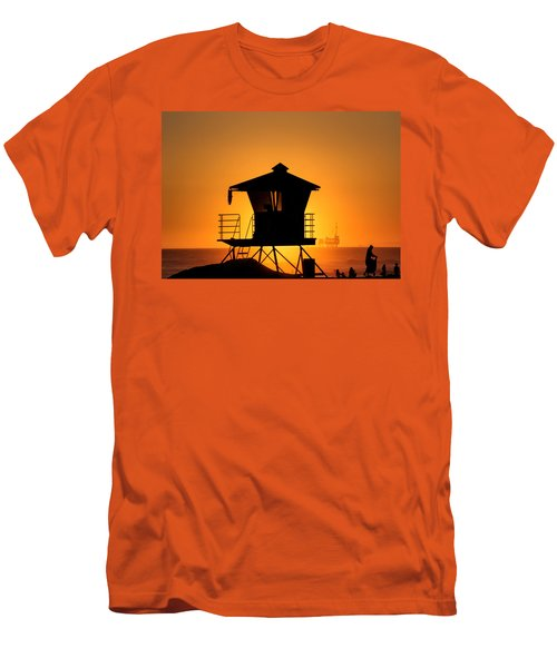 Sunburst Men's T-Shirt (Slim Fit) by Tammy Espino