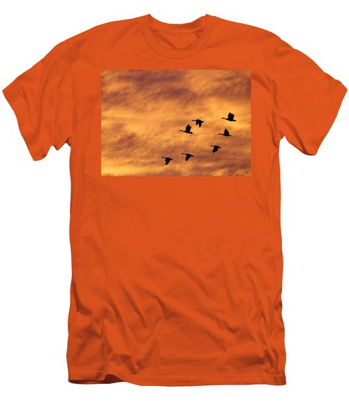 Sunrise Flight 2 Men's T-Shirt (Athletic Fit)