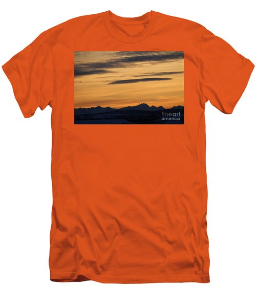 Sunset From 567 Men's T-Shirt (Athletic Fit)
