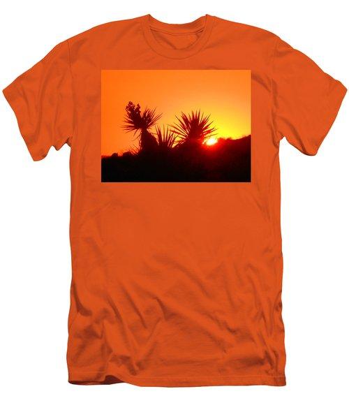 Sunset Near Castle Rock Men's T-Shirt (Athletic Fit)