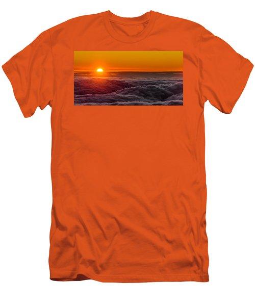 Sunset On Cloud City 1 Men's T-Shirt (Athletic Fit)