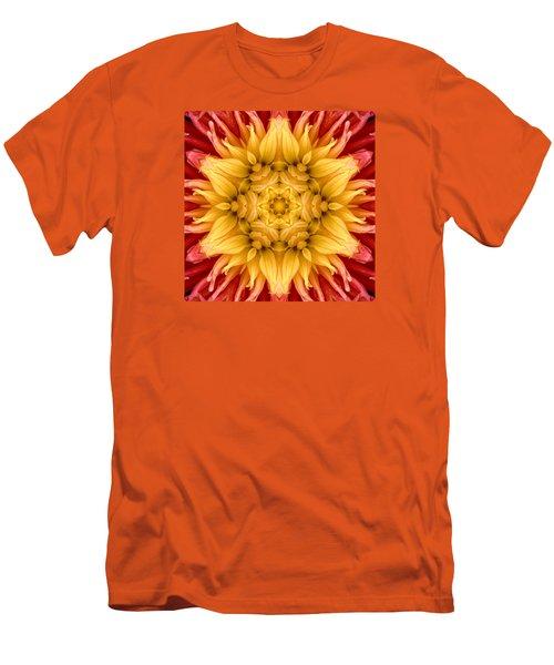 Surreal Flower No.4 Men's T-Shirt (Athletic Fit)