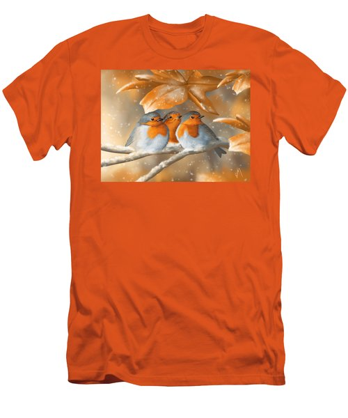 Sweet Nature Men's T-Shirt (Slim Fit) by Veronica Minozzi