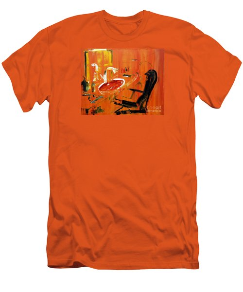 The Barbers Shop - 3 Men's T-Shirt (Athletic Fit)