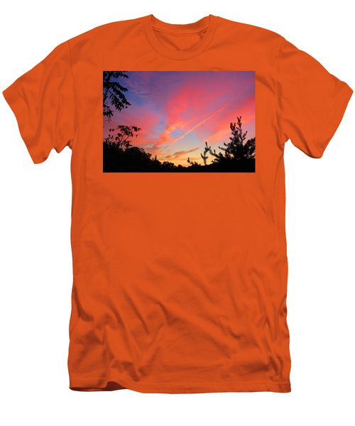 Men's T-Shirt (Slim Fit) featuring the photograph The Color Gets Good by Kathryn Meyer