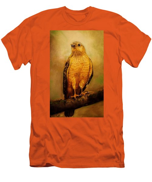 The Hawk Men's T-Shirt (Slim Fit) by Jean Cormier