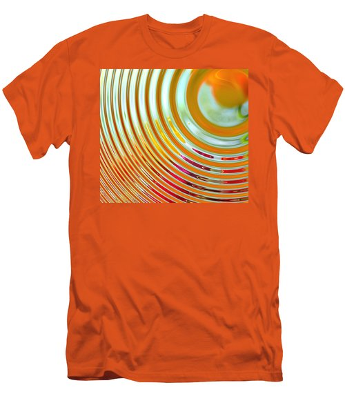 The Ripple Effect Men's T-Shirt (Slim Fit) by Mary Machare