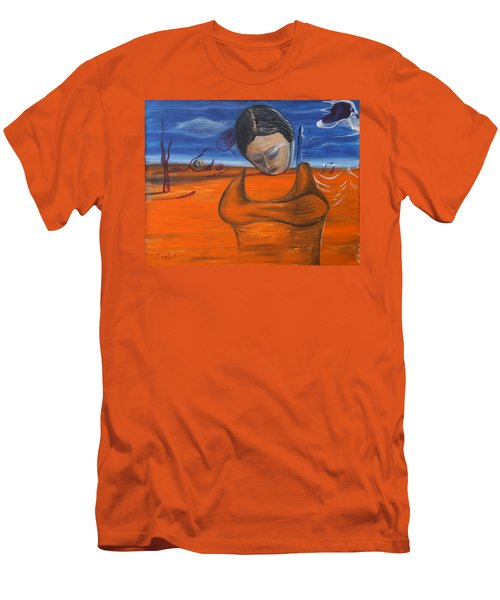 The Saharan Insomniac Men's T-Shirt (Slim Fit) by Christophe Ennis