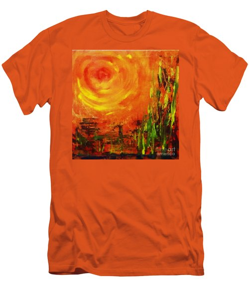The Sun At The End Of The World Men's T-Shirt (Athletic Fit)