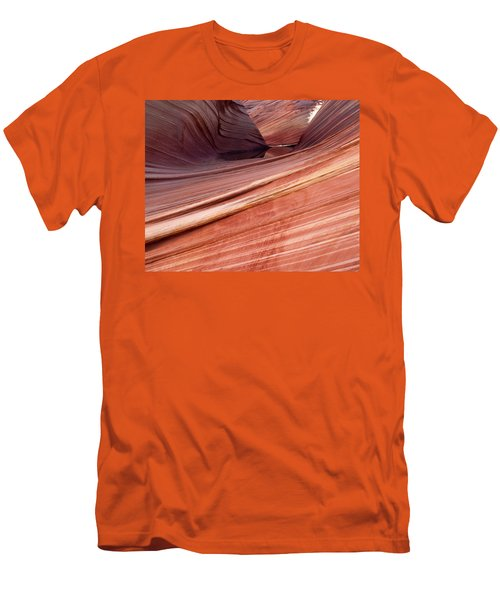 'the Wave' North Coyote Buttes 62 Men's T-Shirt (Slim Fit) by Jeff Brunton