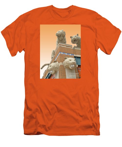Tiger Town Men's T-Shirt (Slim Fit) by Ann Horn