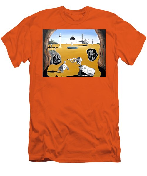 Time Travel Men's T-Shirt (Slim Fit) by Ryan Demaree