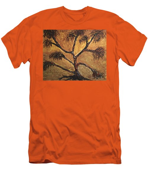 Tree Men's T-Shirt (Slim Fit) by Dick Bourgault