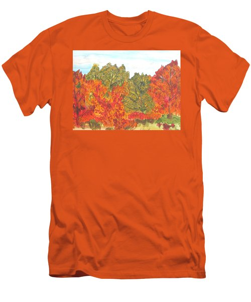Trees Of Fall Men's T-Shirt (Athletic Fit)