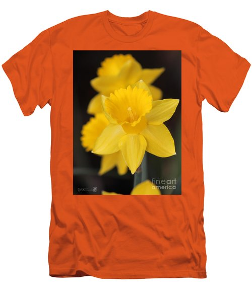 Trumpet Daffodil Named Exception Men's T-Shirt (Athletic Fit)