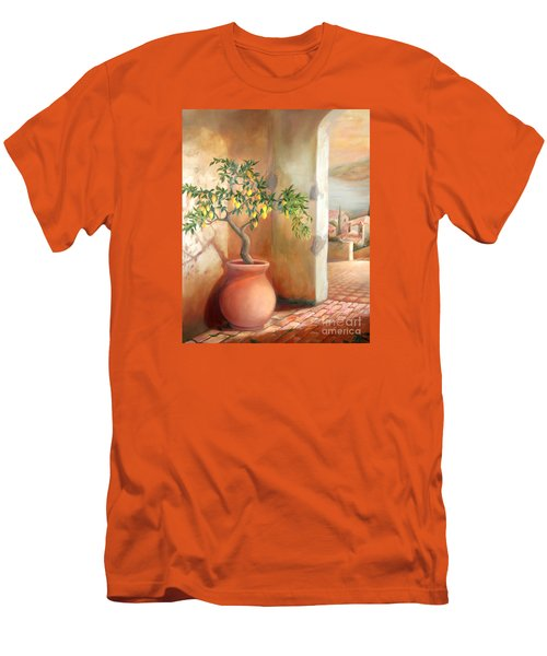 Tuscan Lemon Tree Men's T-Shirt (Athletic Fit)