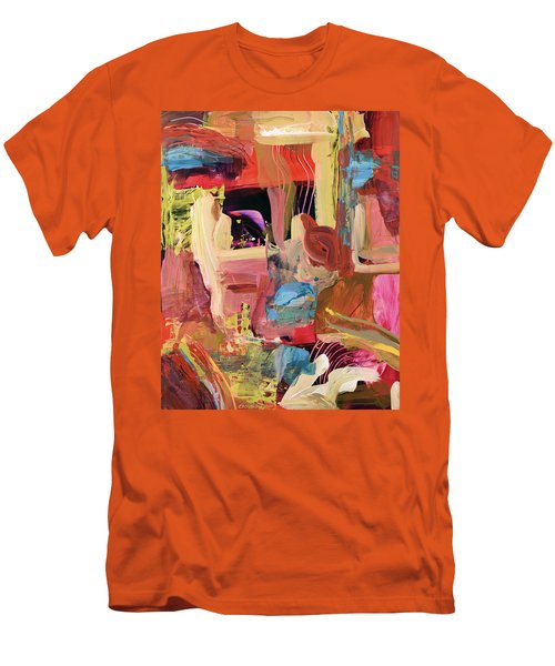 Untitled Abstract Men's T-Shirt (Athletic Fit)