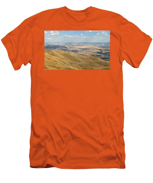 Men's T-Shirt (Slim Fit) featuring the photograph Valley View by Mark Greenberg