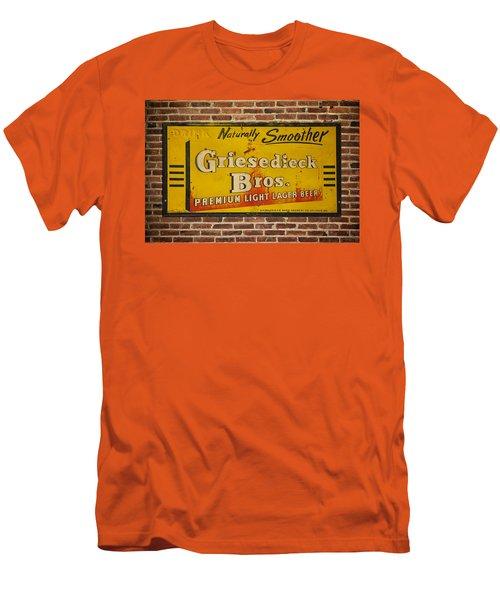 Vintage Griesedieck Bros Beer Dsc07192 Men's T-Shirt (Athletic Fit)