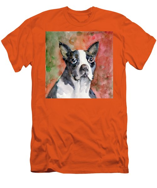 Vodka - French Bulldog Men's T-Shirt (Athletic Fit)