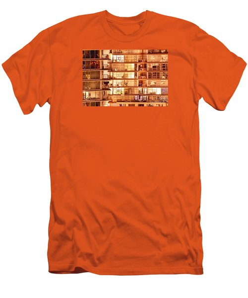 Men's T-Shirt (Slim Fit) featuring the photograph Voyeuristic Pleasures Cdxci by Amyn Nasser