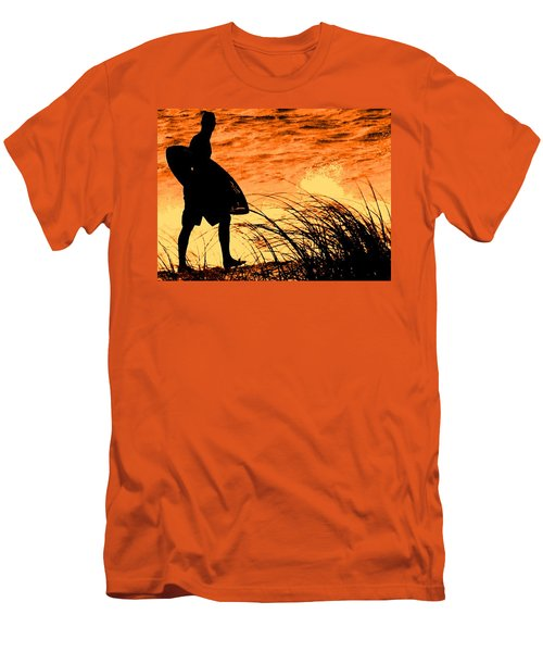 Men's T-Shirt (Slim Fit) featuring the photograph Wave Search by Ian  MacDonald