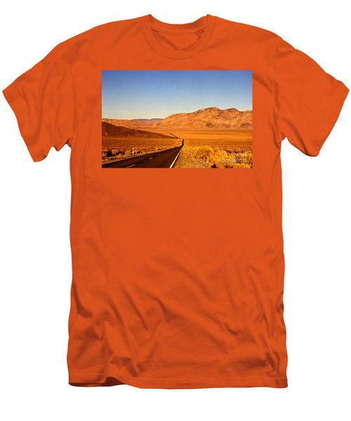 Way Open Road Men's T-Shirt (Athletic Fit)