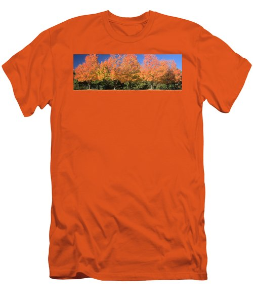 Men's T-Shirt (Slim Fit) featuring the photograph Welcome Autumn by Gordon Elwell