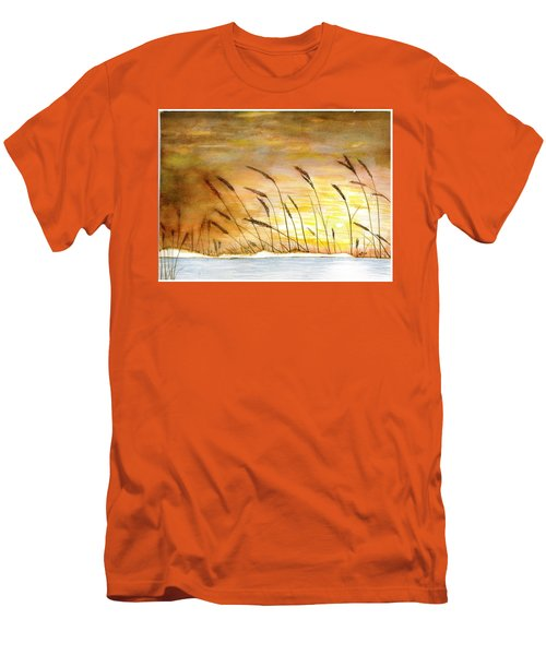 Wheat Men's T-Shirt (Athletic Fit)
