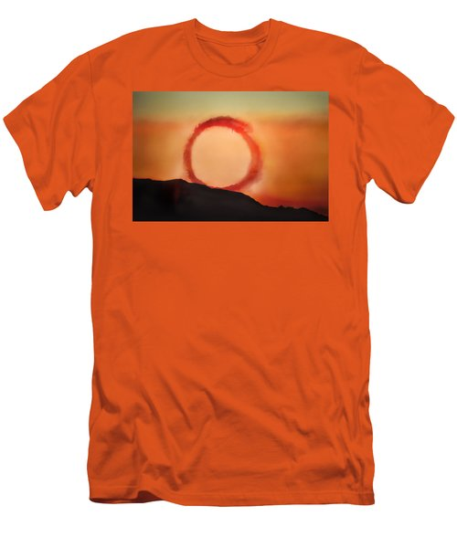 Men's T-Shirt (Slim Fit) featuring the photograph Wheel In The Sky by John Hansen