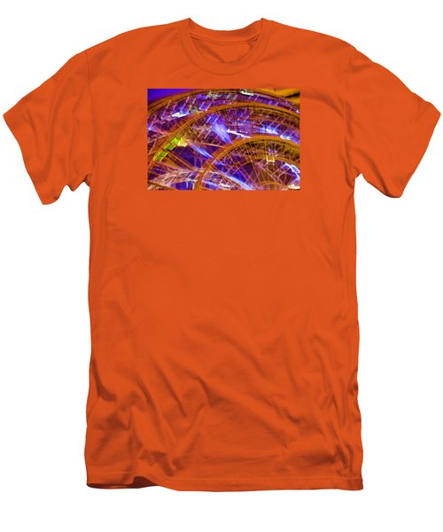 Wheels Men's T-Shirt (Slim Fit) by Michael Nowotny