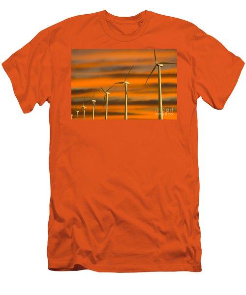 Windmill Farm Men's T-Shirt (Athletic Fit)