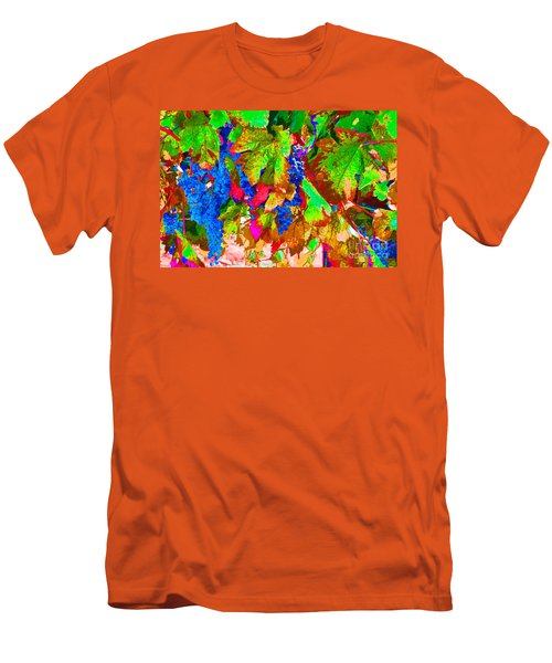 Men's T-Shirt (Slim Fit) featuring the photograph Wine In Time by David Lawson