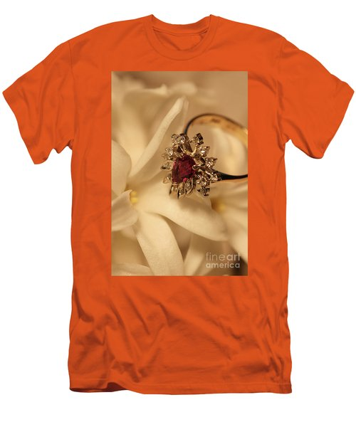 Men's T-Shirt (Slim Fit) featuring the photograph With Love by Joy Watson