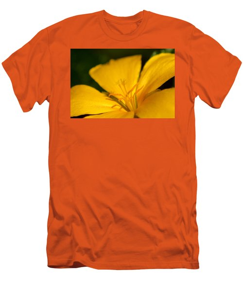 Men's T-Shirt (Slim Fit) featuring the photograph Yellow by Greg Allore