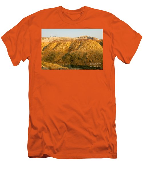 Yellow Mounds Overlook Badlands National Park Men's T-Shirt (Athletic Fit)