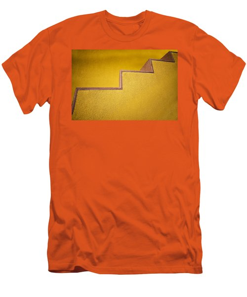 Yellow Steps Men's T-Shirt (Athletic Fit)
