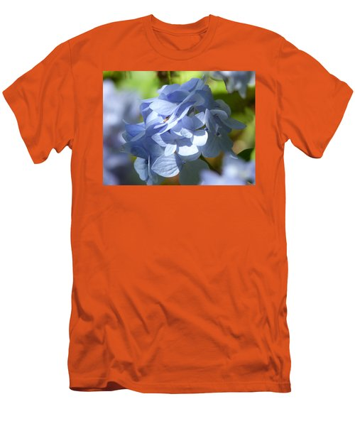 Men's T-Shirt (Slim Fit) featuring the photograph Hydrangea by Lynn Bolt