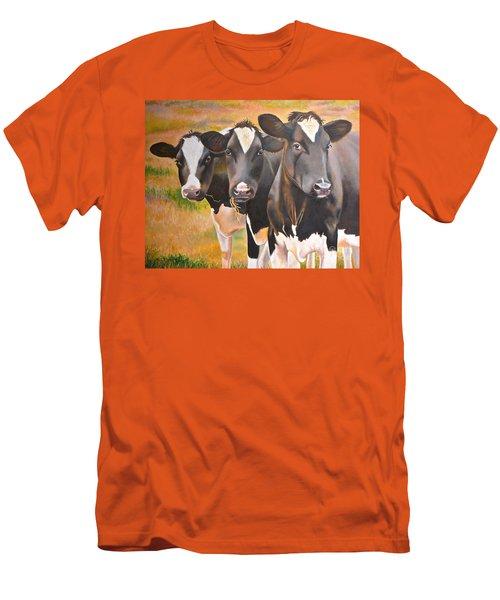 Curious Trio Men's T-Shirt (Athletic Fit)