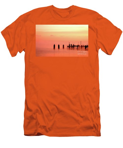 Men's T-Shirt (Slim Fit) featuring the photograph Eery Morn by Clayton Bruster