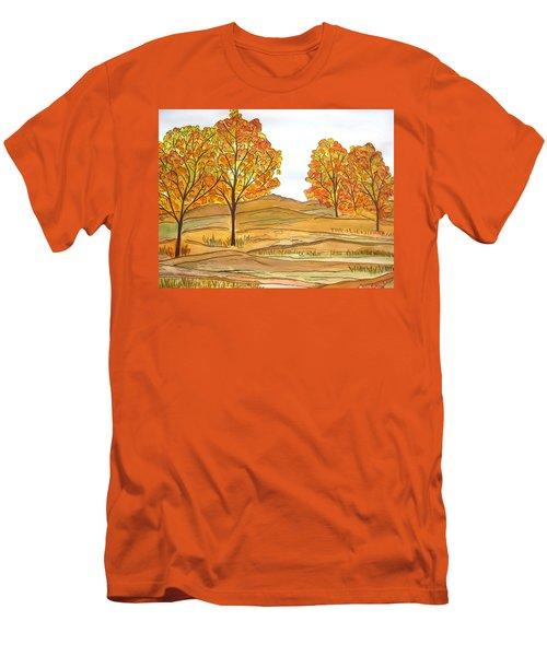 A Bit Of Fall Men's T-Shirt (Athletic Fit)