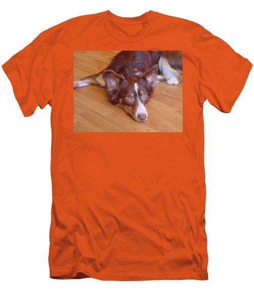 Abbey Feeling Down Men's T-Shirt (Athletic Fit)