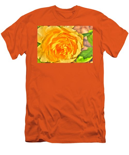 Men's T-Shirt (Slim Fit) featuring the photograph After The Rain by Michael Frank Jr