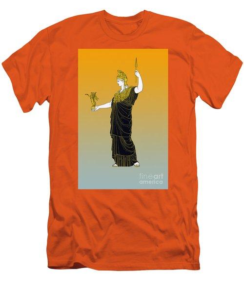 Athena, Greek Goddess Men's T-Shirt (Slim Fit) by Photo Researchers