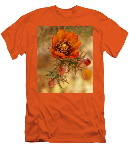 Buckhorn Cholla 2 Men's T-Shirt (Slim Fit) by Vivian Christopher