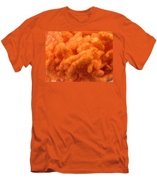 Cheesy Poofs Men's T-Shirt (Athletic Fit)