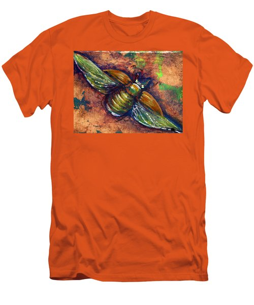 Copper Beetle Men's T-Shirt (Athletic Fit)