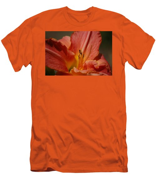 Daylilly Men's T-Shirt (Slim Fit) by Randy J Heath