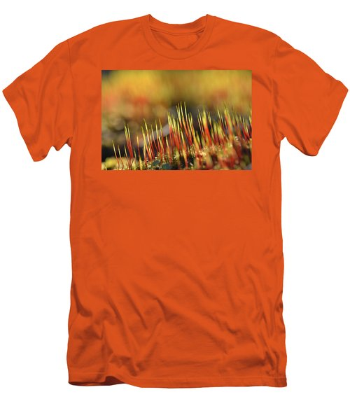 Flaming Moss Men's T-Shirt (Athletic Fit)