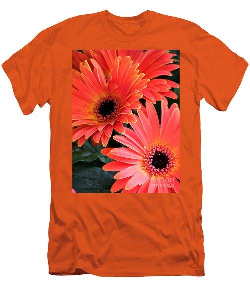 Gerbera Bliss Men's T-Shirt (Slim Fit) by Rory Sagner
